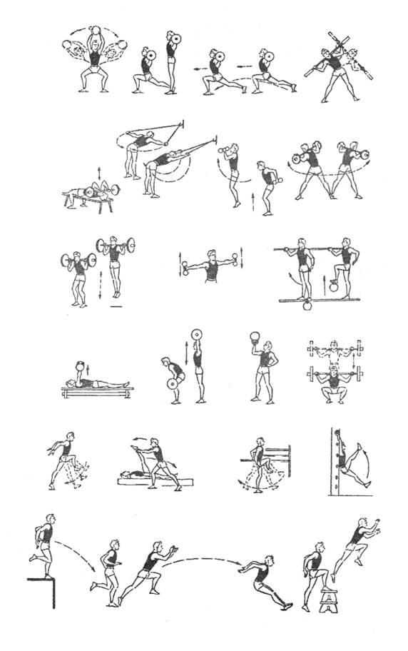 Легкая атлетика упражнения для начинающих