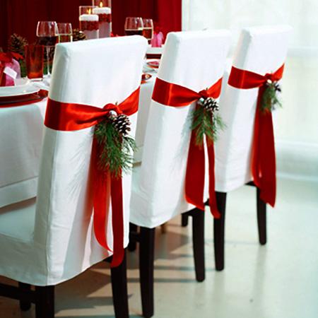 Свадебные украшения для стульев своими руками