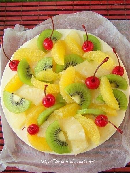 Украшение фруктами в домашних условиях с фото 607