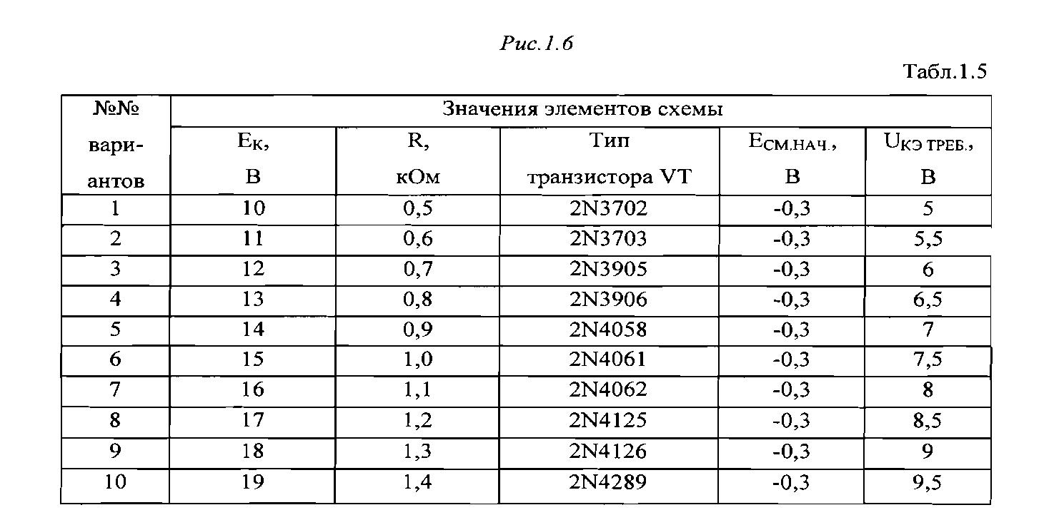 активный нормальный режим схема с общим коллектором