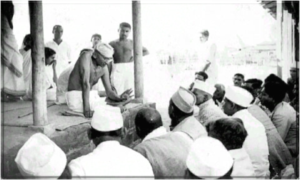 gandhi and his non violent action in india Employing nonviolent civil disobedience, gandhi led india to independence and inspired after his return to india in 1915, he set about organising peasants, farmers, and urban labourers to protest the massacre and gandhi's non-violent response to it moved many, but also made some sikhs and.