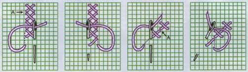 Вышивка крестиком по рисунку для начинающих пошагово