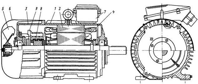 Двигатель постоянного тока устройство и схема6