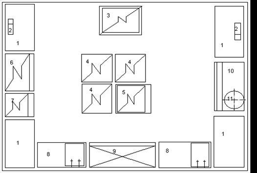 Схема горячего цеха с расстановкой оборудования фото 2