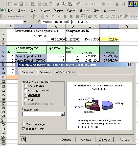 Лекции Правовая Информатика Excel