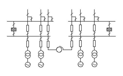 Схемы соединений станций и подстанций
