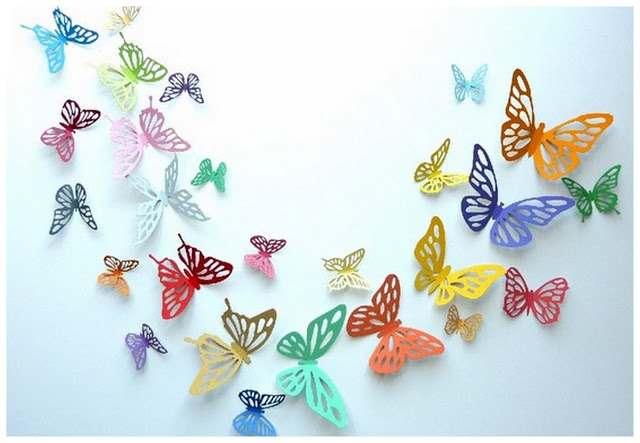 Как сделать бабочку для декора