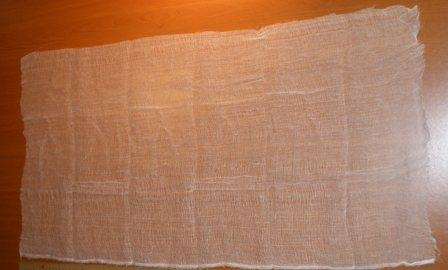 Как сделать марлевую повязку из марли и ваты