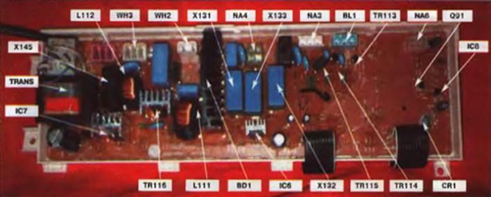 Ремонт модуля управления стиральной машины lg своими руками