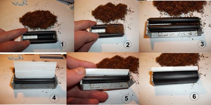 Машинка для скрутки сигарет своими руками