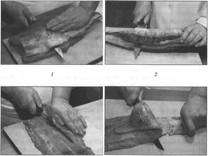 Способы обработки рыб! на филе