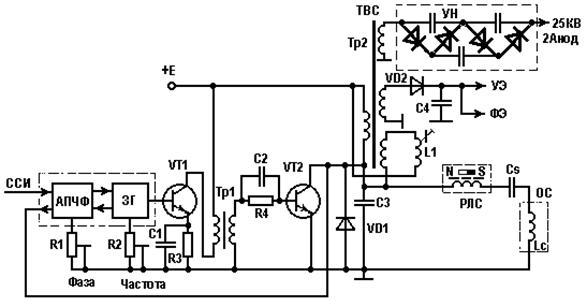 Схема генератора СР