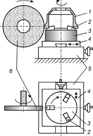 Схема полуавтомата для