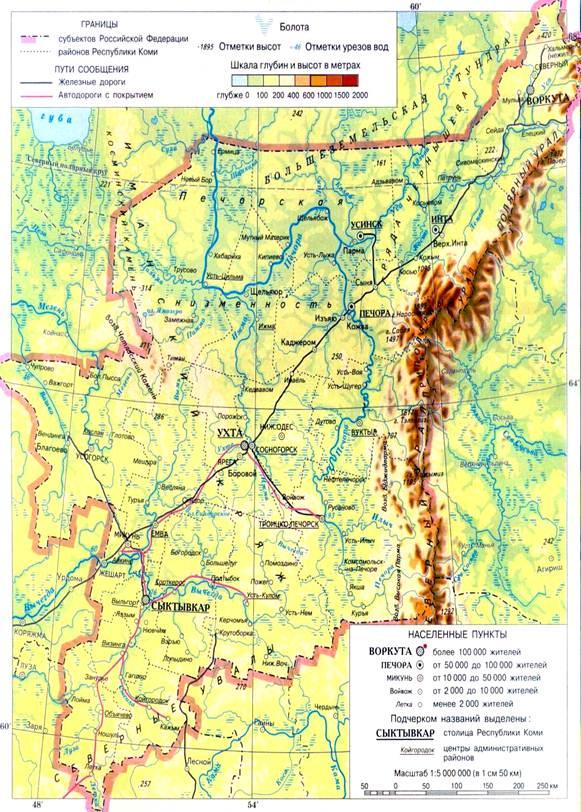 Рисунок 1.1 – Обзорная карта