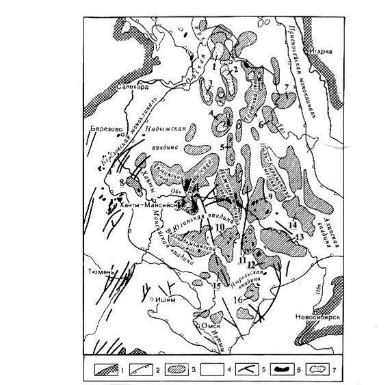 Рис.13 Схема тектонического