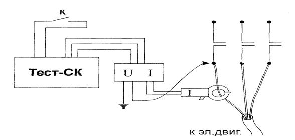 Схема подключения прибора «