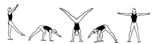 Упражнения общего воздействия в гимнастике