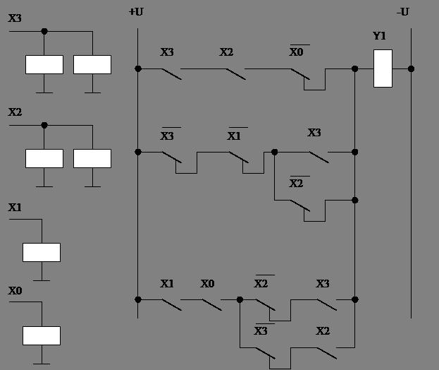 Схема логического устройства