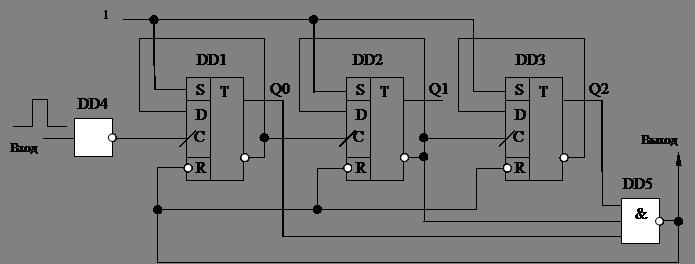 элемент 3И-НЕ К155ЛА4.