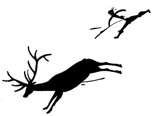 Картинки по запросу охота на мамонта наскальный рисунок