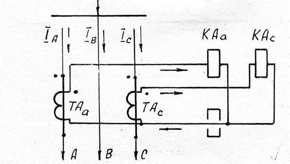 Схема неполной звездой