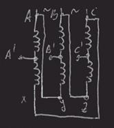 Число пар полюсов асинхронного двигателя