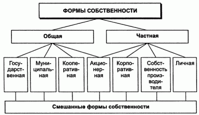 Акционерная собственность в переходный период