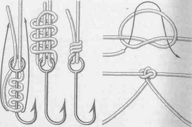 Рыбалка вязание петель крючком 46