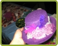 Чем можно украсить шляпу своими руками 47