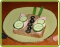 Бутерброды с колбасой для детей фото