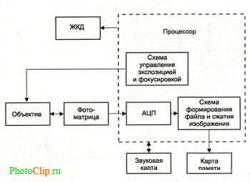Блок схема цифрового фотоаппарата фото 112