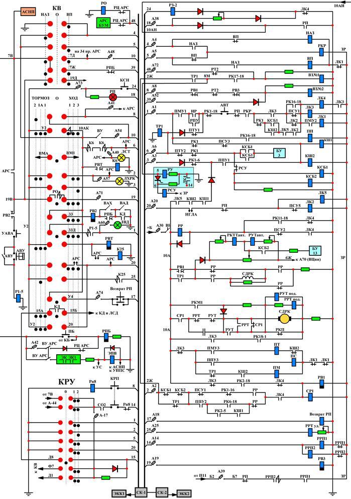 81 717 электрическая схема