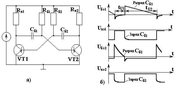 Рис.19.1Схема транзисторного