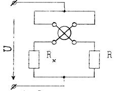Схема измерения сопротивления заземления мегаомметром