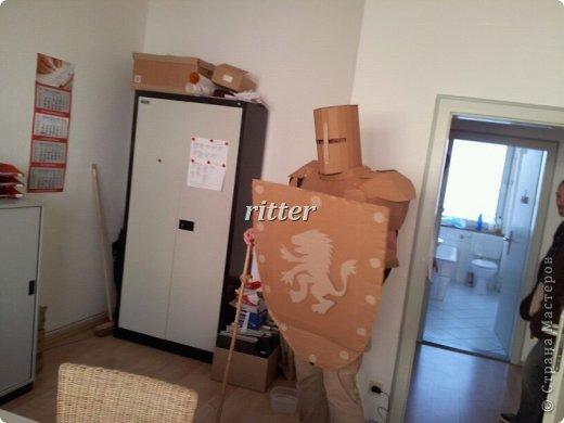 Рыцарский щит из картона