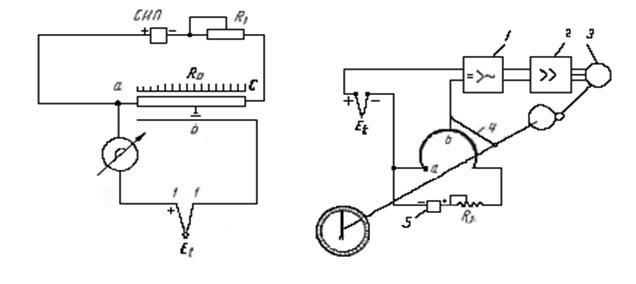 Схема гальванометра э