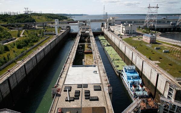 Все поднятии уровня чебоксарского водохранилища и остроительстве низконапорной плотины