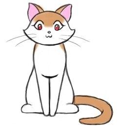 Рисунки кота сильвестра