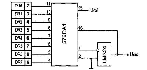 572па1 схема включения