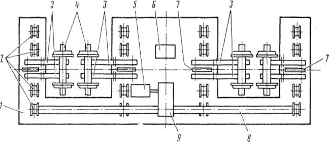 1 – рама трансбордера
