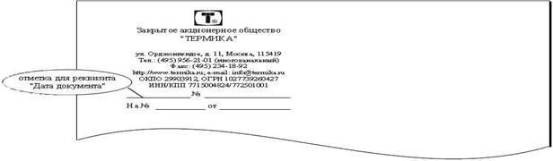 регистрационный номер бланк
