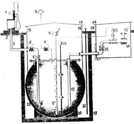 трубопровод подачи топлива