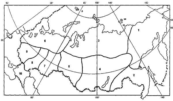 Схема медико-географического