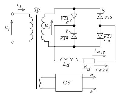 14.9 - Схема однофазного