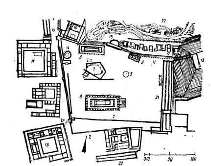 Храмовый комплекс в Олимпии,