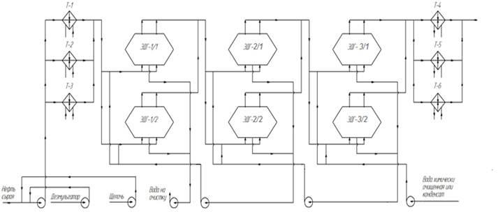 Схема блока ЭЛОУ
