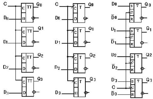 схемы четырехразрядных