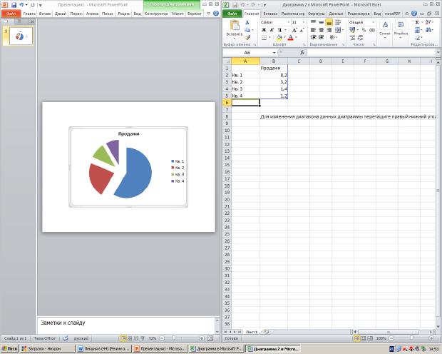 Как построить диаграмму в Excel 38