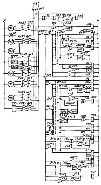 и электродвигатели М2…