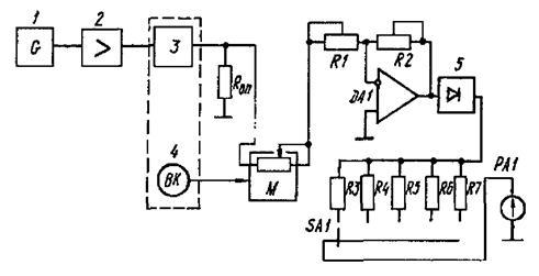 Рисунок 3 - Схема анализатора
